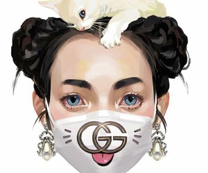 gucci, gang, and girl image