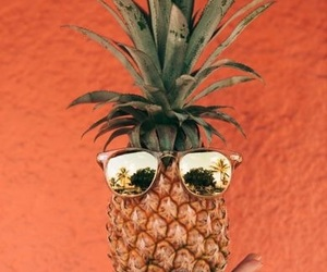 pineapple, summer, and orange image