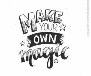 Dream, lettering, and magic image