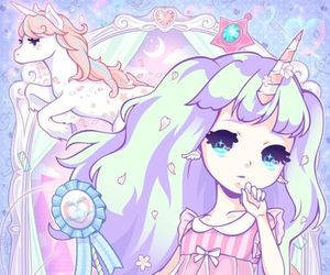 cute, pastel, and pastel color image