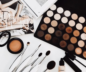 beauty, makeup, and fashion image
