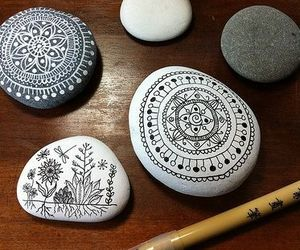 art, stone, and rock image