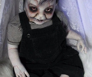 creepy and doll image
