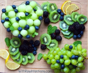 colorful, healthy snack, and this is art image