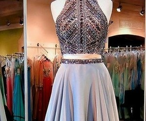 beautiful, dress, and gown image