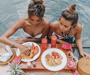 food, fruit, and friends image