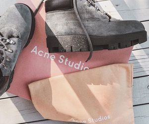 autumn, grey, and shoes image