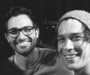 bob morley, the 100, and teen wolf image