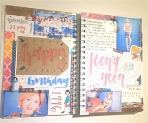 twice, kpop journal, and kpop bullet journal image