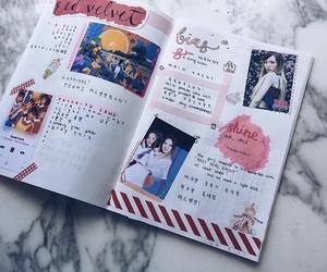 kpop, kpop journal, and kpop bullet journal image