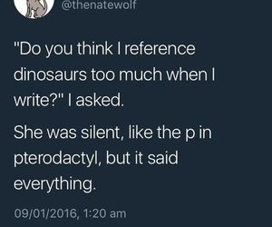 dinosaur, pterodactyl, and reference image