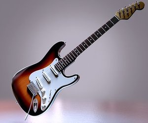 electric, guitar, and music image