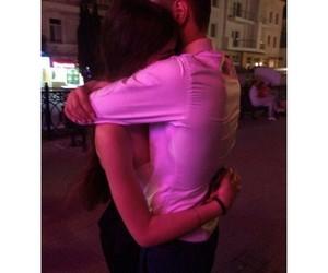 boyfriend, night, and couple image