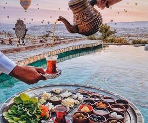 drink, food, and pool image
