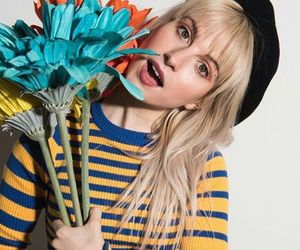 paramore, hayley williams, and flowers image