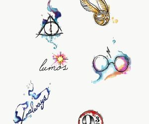 doodle, harry potter, and art image