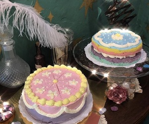 cakes, pastry, and cream image