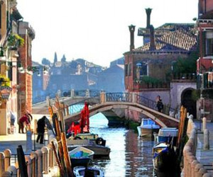 beautiful, boats, and canals image