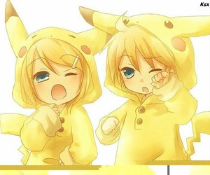 SIBLING, picachu, and twin image
