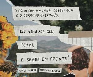 menina, céu, and coraçao image