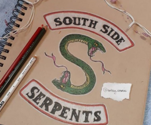 riverdale and south side serpents image