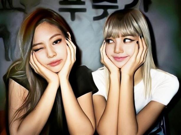 kpop, Liza, and black pink image