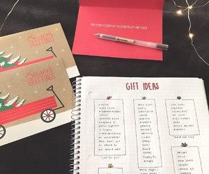 christmas, diary, and diy image
