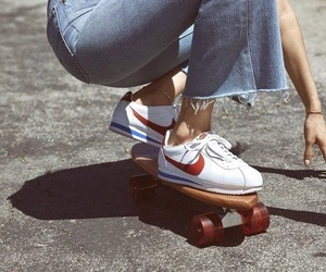 nike, vintage, and jeans image