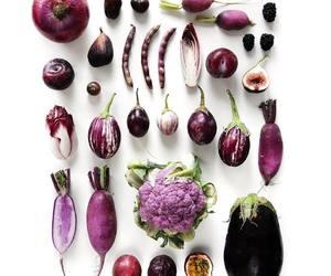 aubergine, bean, and blackberry image