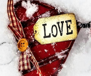 cold, red, and hearts image