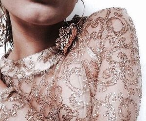 fashion, style, and rose gold image