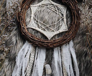 crystal, dreamcatcher, and gypsy image