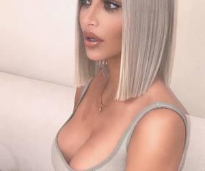 kanye, kardashian, and kim image