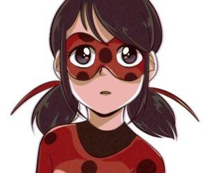 anime, art, and ladybug image