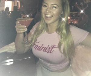 feminist and iskra lawrence image