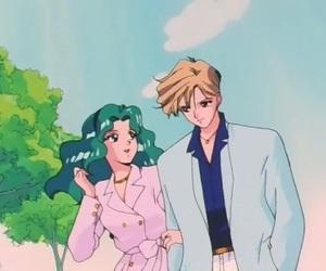 sailor moon, sailor uranus, and anime image