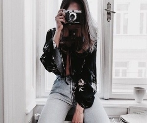 camera, fashion, and indie image