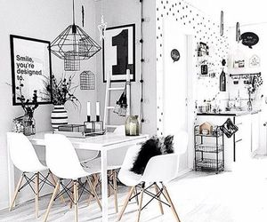 design, black, and home image