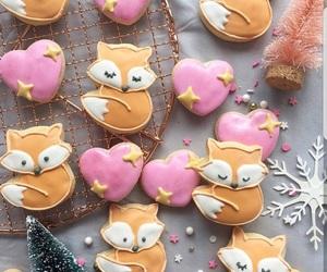 food, fox, and Cookies image