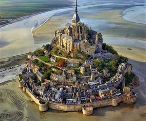 france, castle, and normandy image