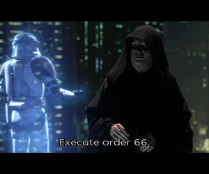dark side, palpatine, and revenge of the sith image