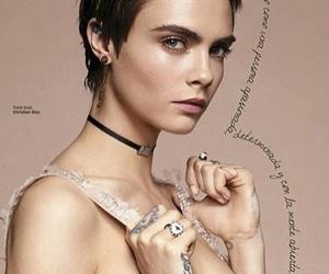 beauty, cara delevingne, and magazine image