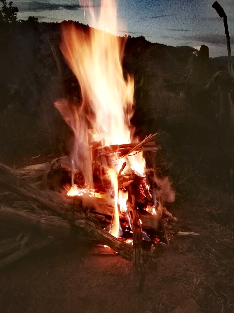 beautiful, fire, and natural image