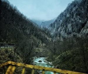 beautiful, blue, and mountain image