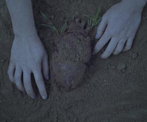 dark and heart image