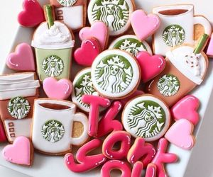 starbucks, food, and Cookies image