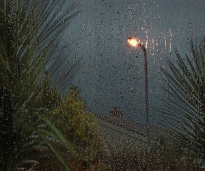 rain, aesthetic, and light image