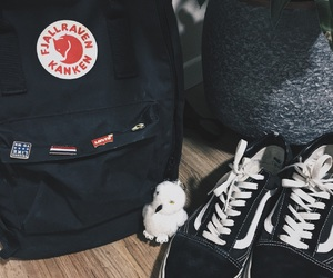 aesthetics, backpack, and black and white image