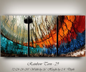 abstract art, etsy, and contemporary art image