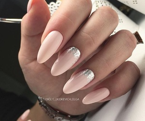 light pink, luxury, and silver image